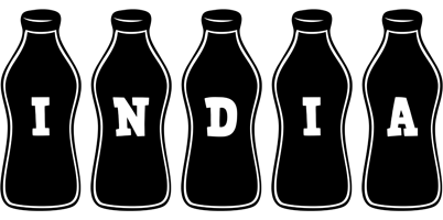 India bottle logo
