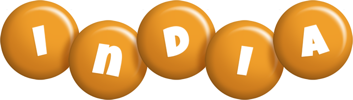 India candy-orange logo