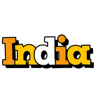 India cartoon logo