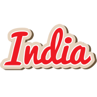 India chocolate logo