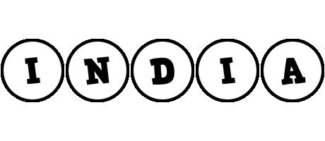 India handy logo