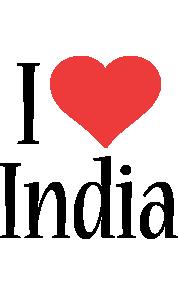 India i-love logo