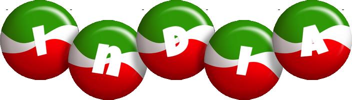 India italy logo