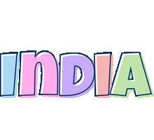 India pastel logo