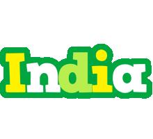 India soccer logo