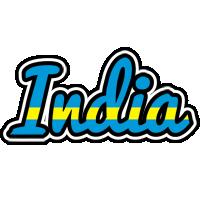 India sweden logo