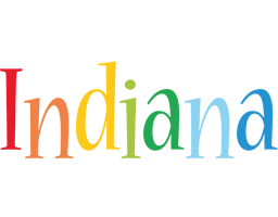 Indiana birthday logo