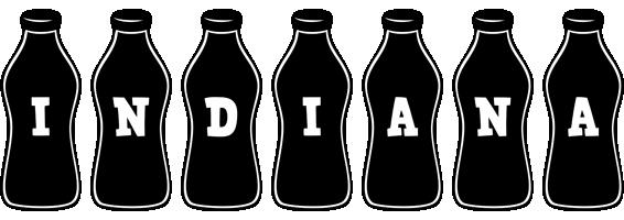 Indiana bottle logo