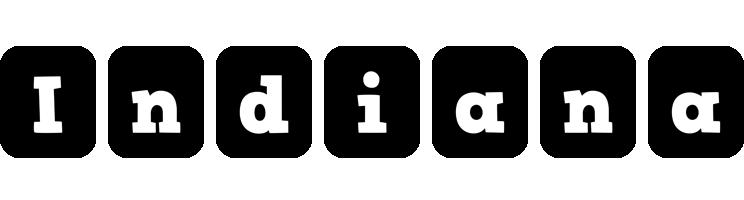 Indiana box logo