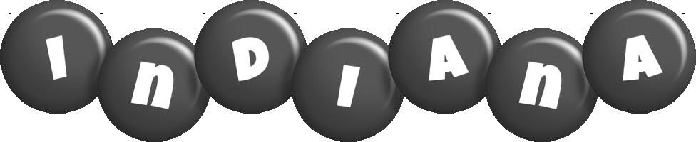 Indiana candy-black logo
