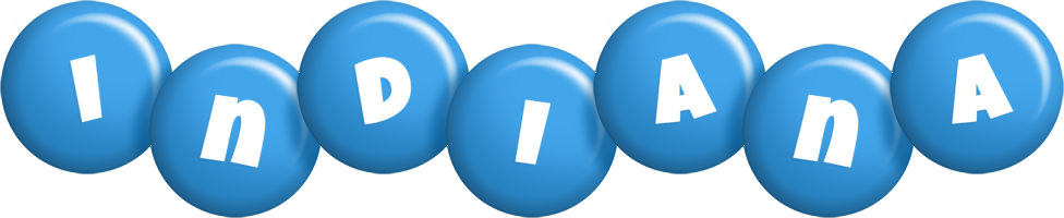 Indiana candy-blue logo