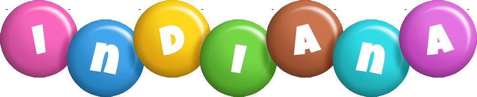Indiana candy logo