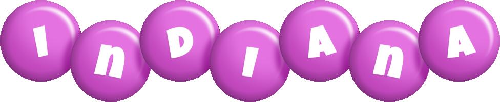 Indiana candy-purple logo