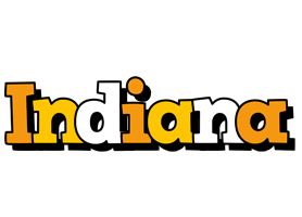 Indiana cartoon logo