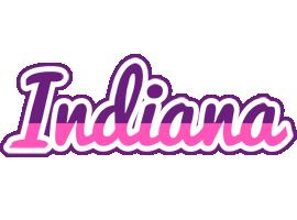 Indiana cheerful logo