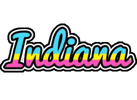 Indiana circus logo