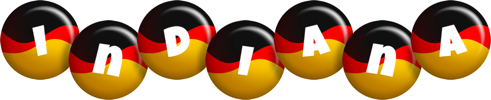 Indiana german logo