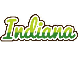 Indiana golfing logo