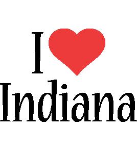 Indiana i-love logo