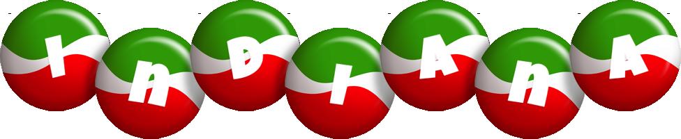 Indiana italy logo