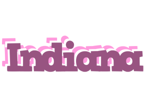 Indiana relaxing logo