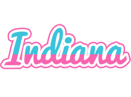 Indiana woman logo