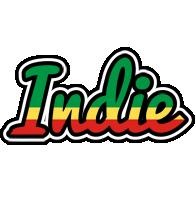 Indie african logo