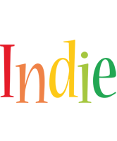 Indie birthday logo