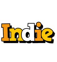 Indie cartoon logo