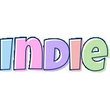 Indie pastel logo