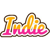 Indie smoothie logo