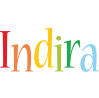 Indira birthday logo