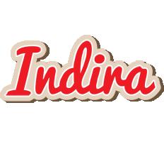 Indira chocolate logo
