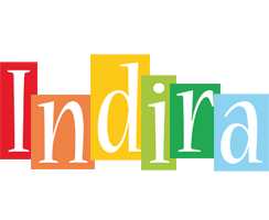 Indira colors logo