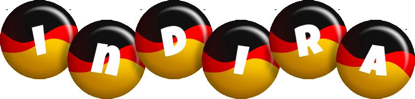 Indira german logo