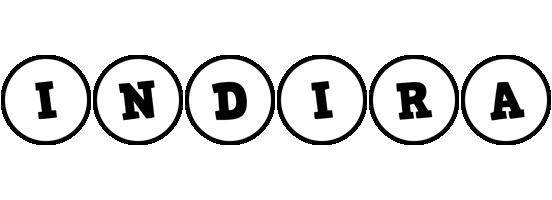 Indira handy logo