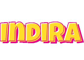 Indira kaboom logo