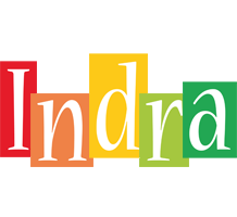 Indra colors logo