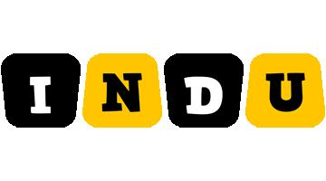 Indu boots logo