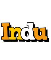 Indu cartoon logo
