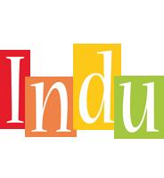 Indu colors logo