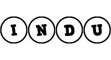 Indu handy logo