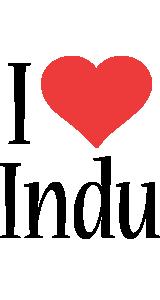 Indu i-love logo