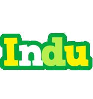 Indu soccer logo