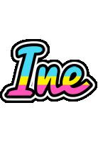 Ine circus logo