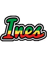 Ines african logo