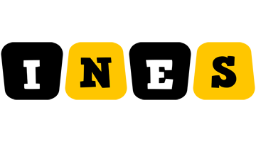 Ines boots logo