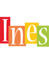 Ines colors logo