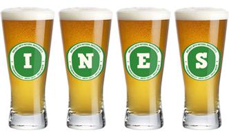 Ines lager logo