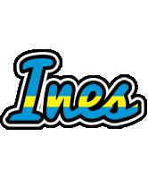 Ines sweden logo